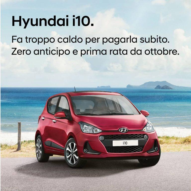 Hyundai i10 - Pollina Auto Trapani