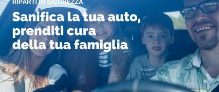 #Noinoncifermiamo – Servizi di sanificazione auto